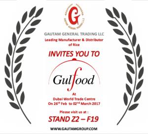 Gulfood Invitation 2